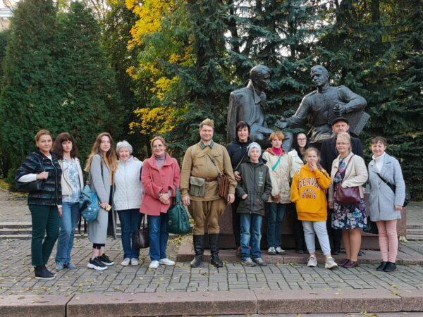Экскурсия по Смоленску для слушателей студии
