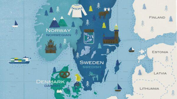Скандинавские языки в Смоленске